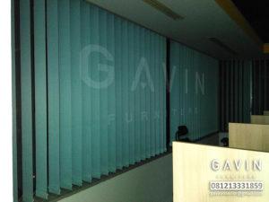 Vertical Blinds Untuk Ruang Kantor