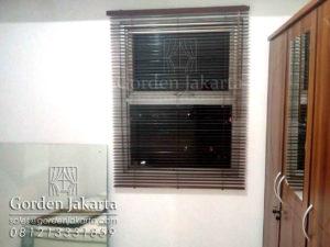 wooden blind murah jakarta blinds jakarta