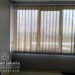 vertical blind solar screen beige white