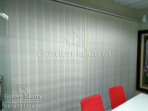 Q3097 vertical blinds dimout Sp 8007 - 7 blinds jakarta