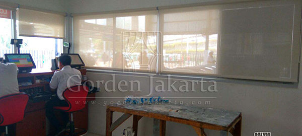 harga roller blinds solar screen sharp point 2017
