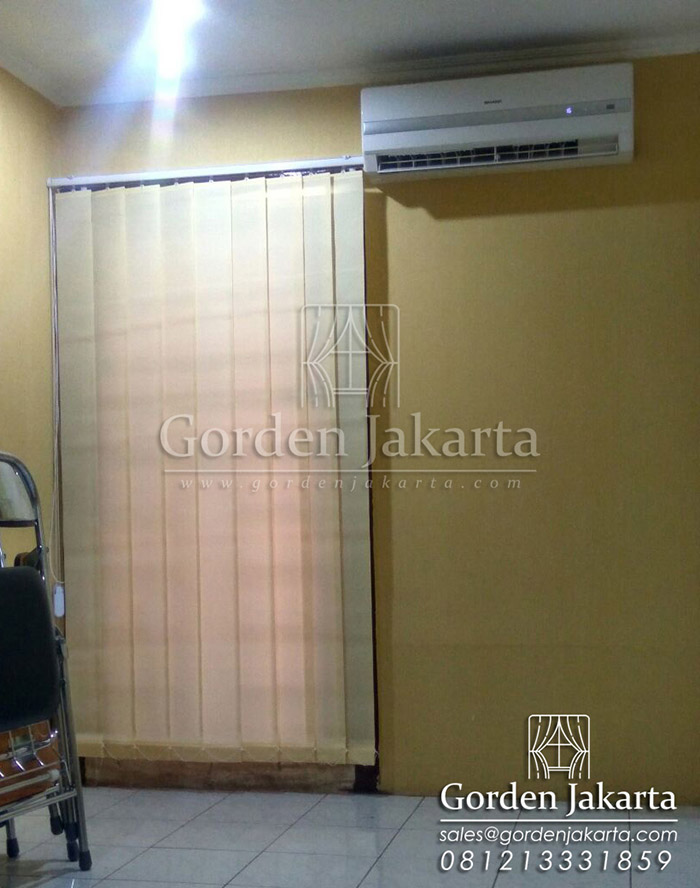 Vertical Blinds Dimout Sp 8006 - 7 beige Q3139