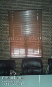 harga venetian blinds wood motive slatting 25 mm Sp 936 w Q3190