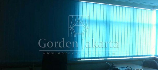 Vertical Blinds Dimout Sp. 8003-4 Blue Di Bendungan Hilir Q3477