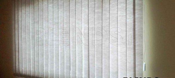 harga tirai vertical blinds semi blackout Sp. 8370 - 6 Grey di Bekasi Q3669