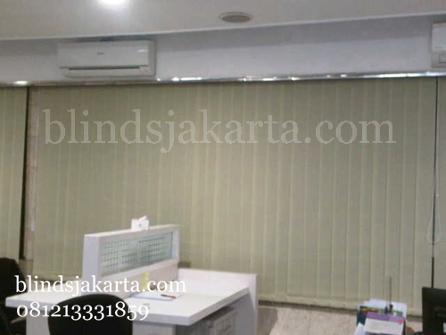 vertical blinds graha telkom sudirman-blindsjakarta