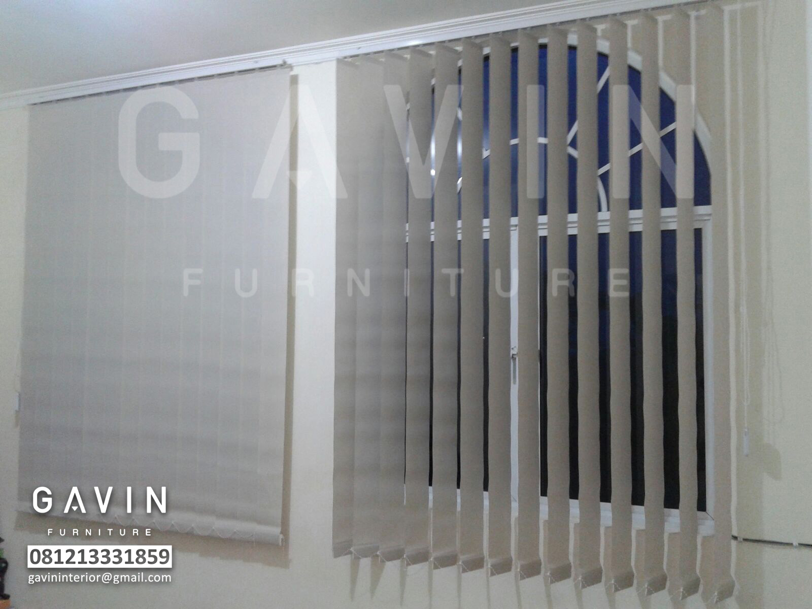 jual tirai vertical blind