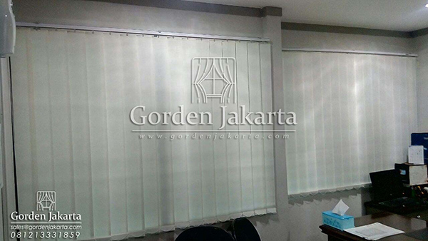 Vertical Blinds Deluxe Shinichi Series 1807 Blinds Jakarta