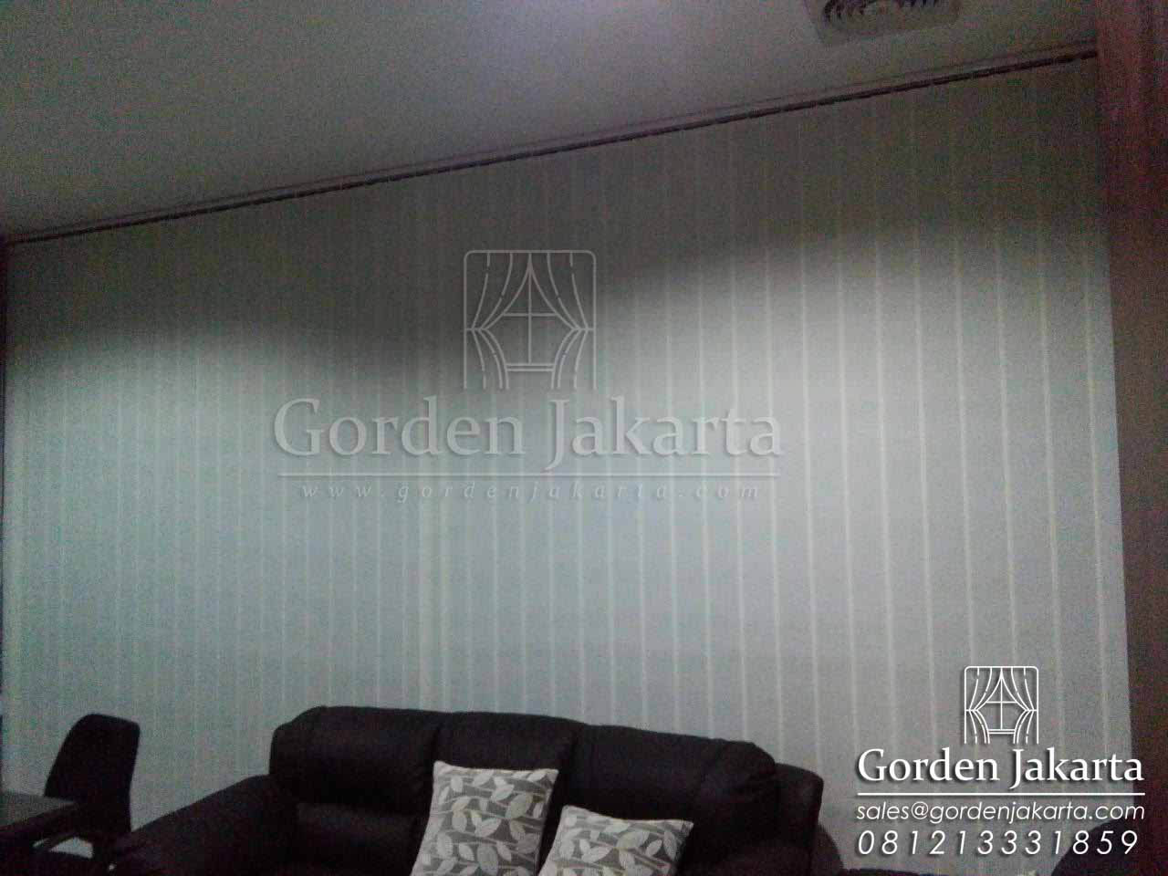 model vertical blind dimout di cilandak