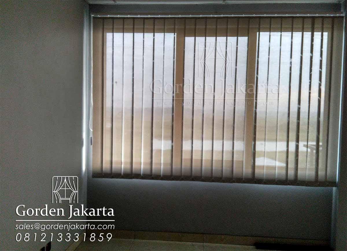 vertical blind bahan solar screen