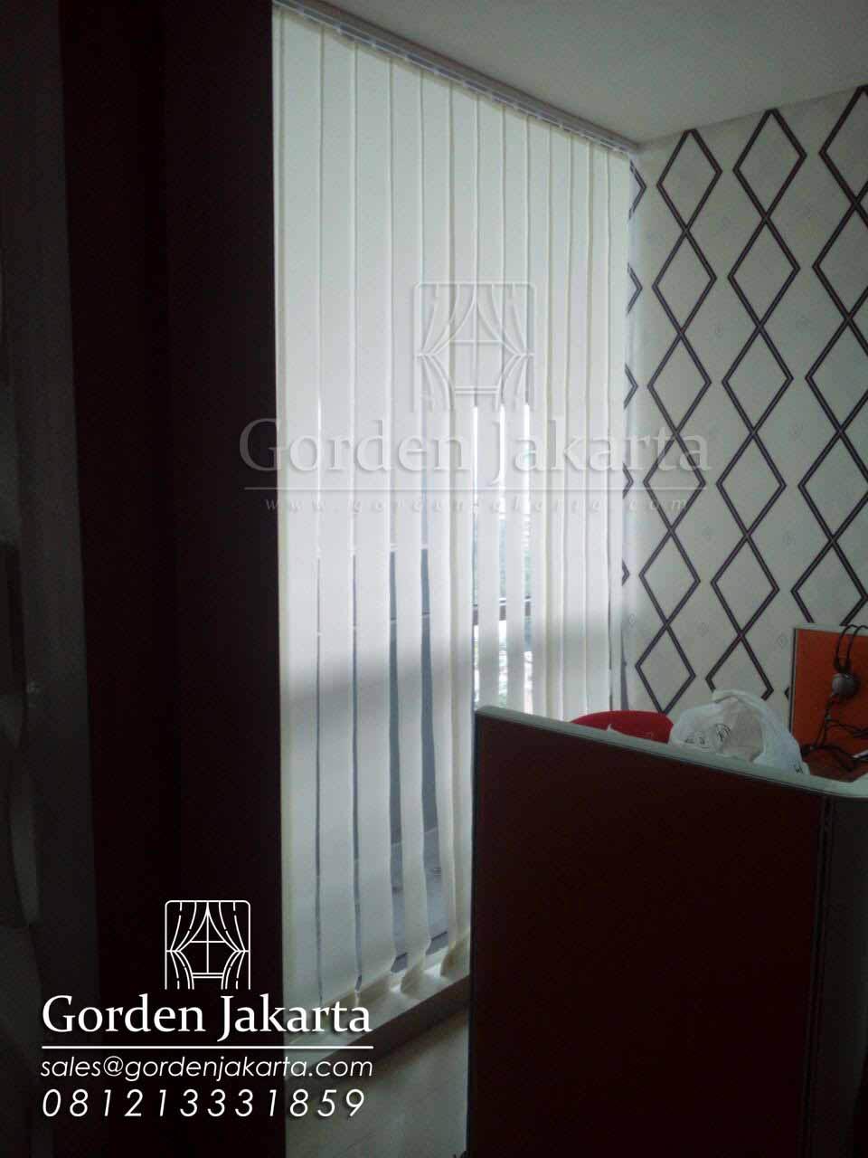 vertical blinds semi blackout