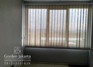 harga vertical blinds sharp point solar screen