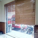 jual model wooden blinds custom