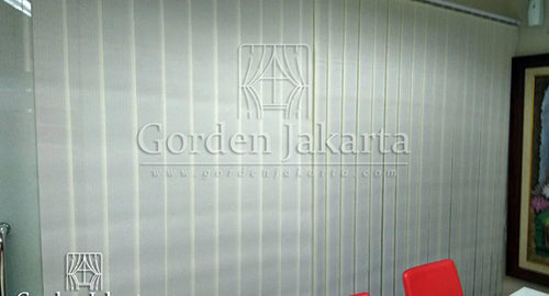 Q3097 vertical blinds dimout Sp 8007 - 7 blinds jakarta