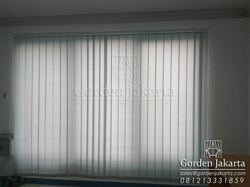 Jual Vertical Blinds Dimout Sp 8007-6 Grey Q2945