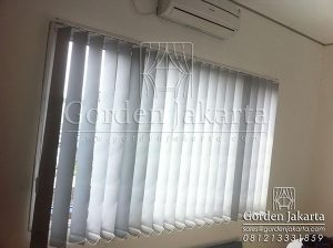 Vertical Blinds Blackout Sp 6045 - 3 Grey Project Di Ciputat Q3301