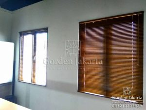 wooden blinds Sp 05 sharp point blinds jakarta