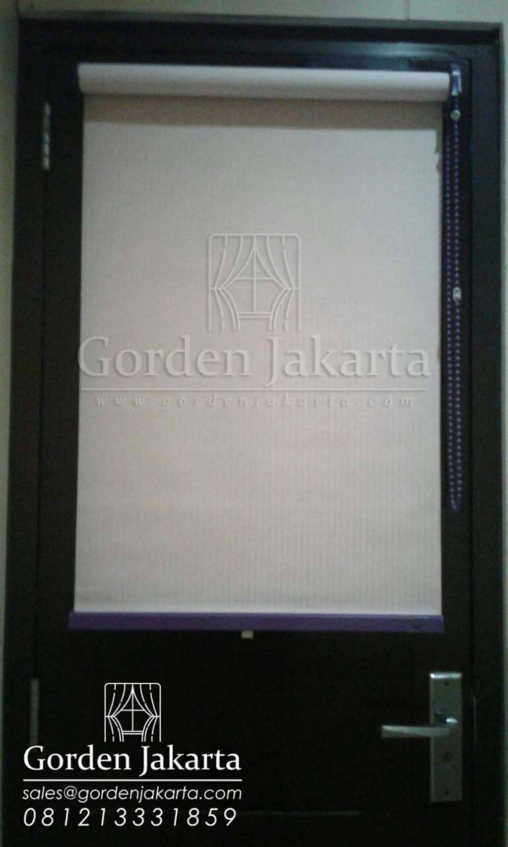 Roller Blinds Semi Blackout Sp 5438 Di Caplin Ciledug Q3411