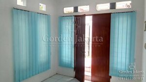contoh vertical blinds dimout sp 8003-4 blue by blinds jakarta