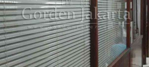 Contoh Venetian Blinds Deluxe Slatting 25 mm Sp 015 White Di Pulo Gadung Q3384
