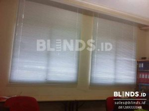 slimline blinds merk onna bahan standard slat 25mm di Grand Galaxy Q3493