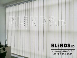Jual Vertical Blinds Dimout Sp. 8006 - 3 Dark Beige Sharp Point Q3525