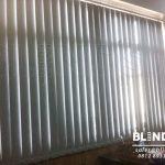 produksi vertical blinds blackout sp . 6046-5 grey di tanjung priok