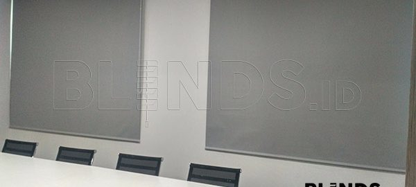 Jual Roller Blinds Blackout Superior Sp. 6045-3 Grey Di Sudirman Q3684