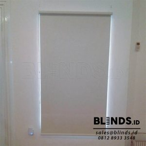 Roller Blinds Blackout Sp. 6045- 2 Beige Sharp Point Q3837