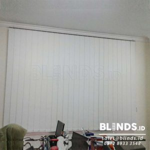 Jual Blackout Vertical Blinds Sp. 6077-1 Ice Sharp Point Di Bekasi Q3827