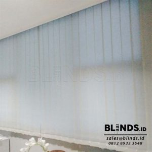 Vertical Blinds Dimout Sp.8010-6 Grey di Fatmawati Q3817