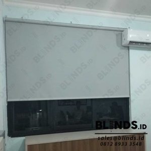 Roller Blinds Superior Dimout Sp.707-5 Light Grey Di Kembangan Q3992