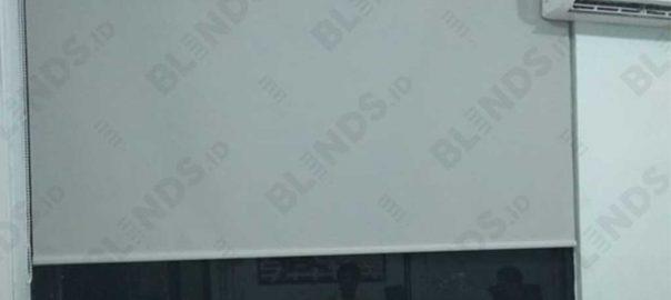 Roller Blinds Superior Dimout Sp.707-5 Light Grey Di Kembangan Q3992