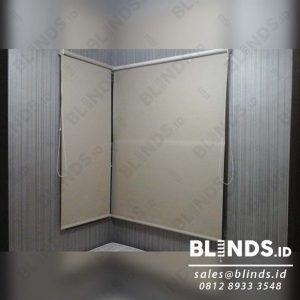 Tirai Jendela Menggulung Roller Blinds Blackout Super Quality Sp.6044-2 Beige Q3914