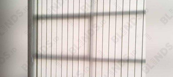 contoh tirai jendela kantor vertical 127mm Sp.8003- 6 Grey di Serpong id4113