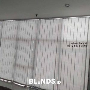 contoh vertical blinds dimout sp.8001-6 grey 127mm di Radio Dalam id4100