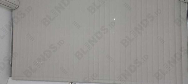 vertical blinds solar screen 1004 di Jembatan Dua id4046