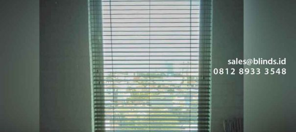 jual wooden blinds tropical hard di Apartemen Riverside Tower id4908