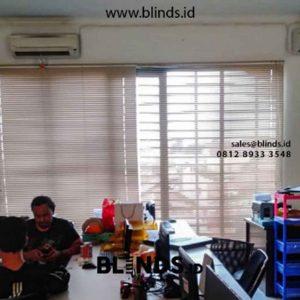 Custom Tirai Venetian Blinds Aluminium Pasang Tebet Jakarta Selatan id5467