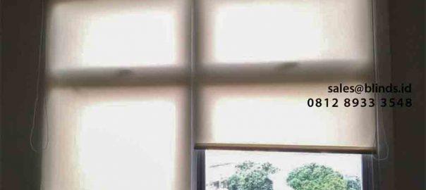 Tirai Roller Blinds Superior Dimout Pasang Di RSCM Dept Bedah Saraf Jakarta Pusat id5063