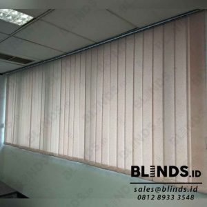jual tirai vertical blinds semi blackout pink id4098