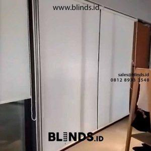 Contoh Tirai roller blinds di Gambir Jakarta Pusat ID5310