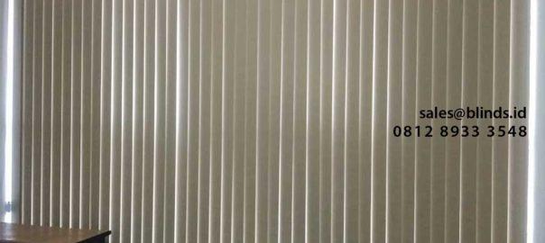 Harga Vertical Blinds Blackout Yang Tetap Nyaman di Kantong id5187