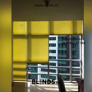 Jual Roller Blind Dimout Sp 202-5 dark yellow Sahid Sudirman Residence Tanah Abang id5617