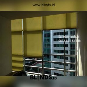 Roller Blinds Sp 202-5 Dark Yellow id5617