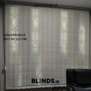 Jual Vertical Blinds Dimout Sp 8000-7 Beige Warung Jati Timur Kalibata Pancoran Jakarta selatan id5992