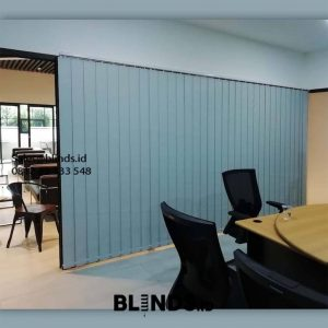 Vertical Blinds Blackout Sp 6045-3 Grey Gelora Tanah Abang Jakarta ID6023