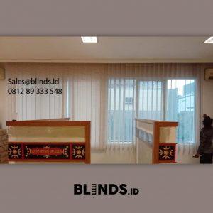 Vertical Blinds Tanah Abang Jakarta series SP 8842-4 brown ID6237
