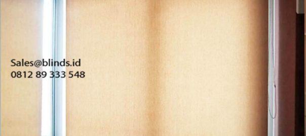 Jual Roller Blinds Dimout Sp 505-6 Beige Apartement Royal Mediterania Grogol Petamburan Id5987