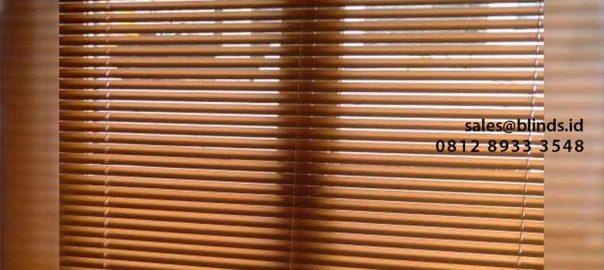 Jual Venetian Blinds Deluxe SP 202 Coklat Perumahan Carina Townhouse Rawa Buaya Cengkareng id5514